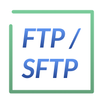 FTP or SFTP logo